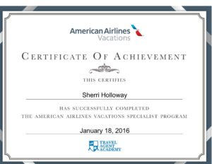 AA Vacations Certificate-1