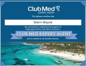 Club Med certificate-1